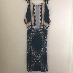 Anthropologie Cold Shoulder Dress